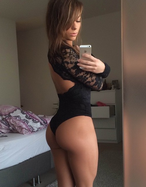 image Fit brunette and her lover feeling it