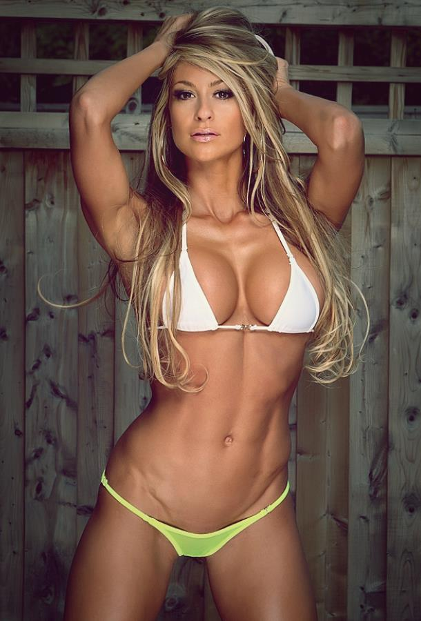 Laura Michelle Prestin fitness model
