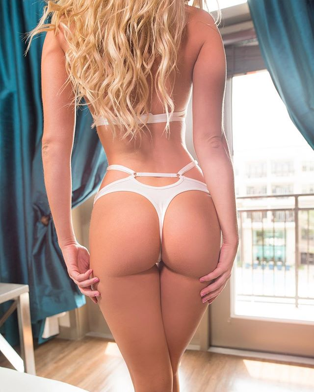 Morgan Hollie ass